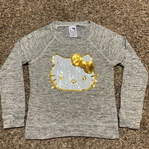4/$20 Hello Kitty Sequined Top M 7/8